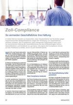 Zoll-Compliance – Haftung als Zollbeauftragter oder Geschäftsführer vermeiden