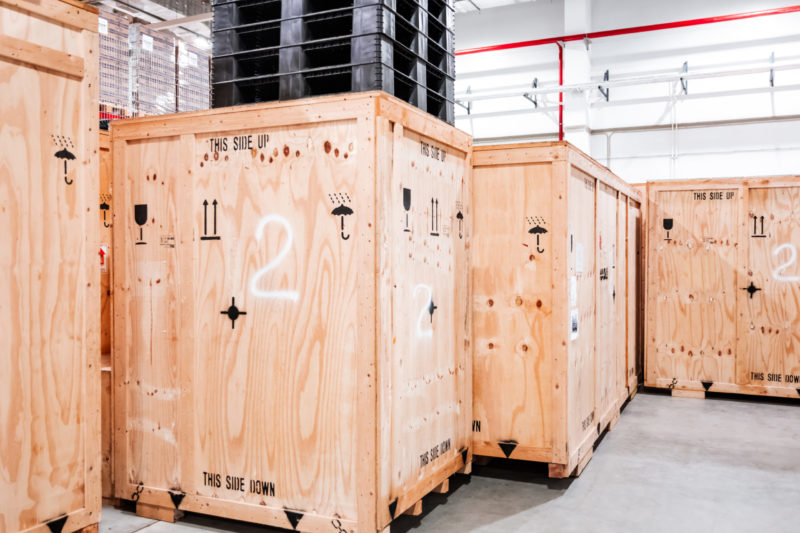 ISPM 15 Holzverpackungen – Zoll kontrolliert