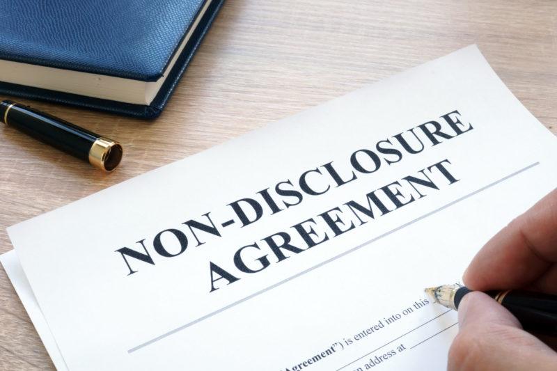 Geheimhaltungsvereinbarungen: Risiken bei NDA